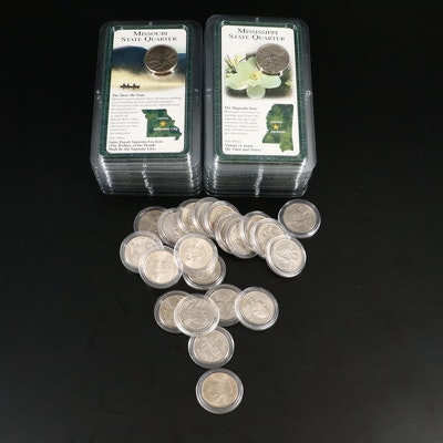 Thirty-Eight Uncirculated Statehood Quarters