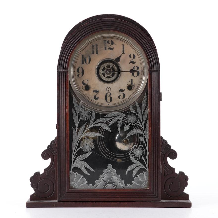 "William L. Gilbert ""Medea"" Mantel Clock, Late 19th/Early 20th Century"