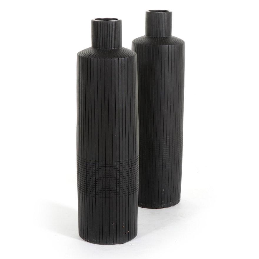 IKEA Contemporary Ceramic Floor Vases