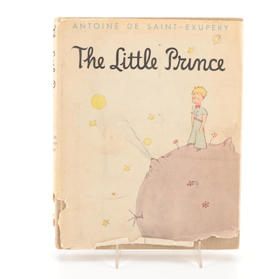 """Early American Printing """"The Little Prince"""" by Antoine de Saint-Exupéry, 1943"""
