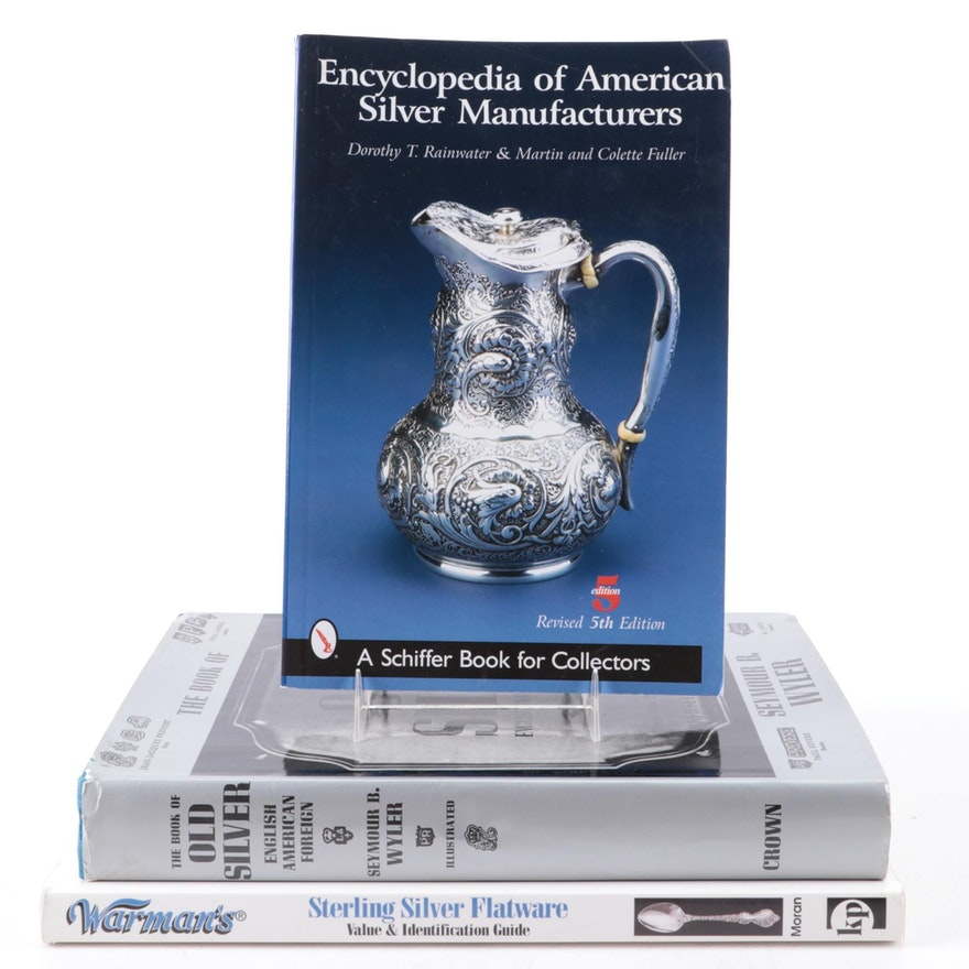 """""""The Book of Old Silver,"""" More Silver and Antique Reference Books"""