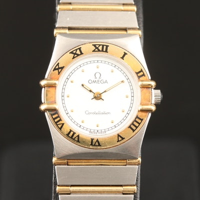1993 Omega Constellation Quartz Wristwatch