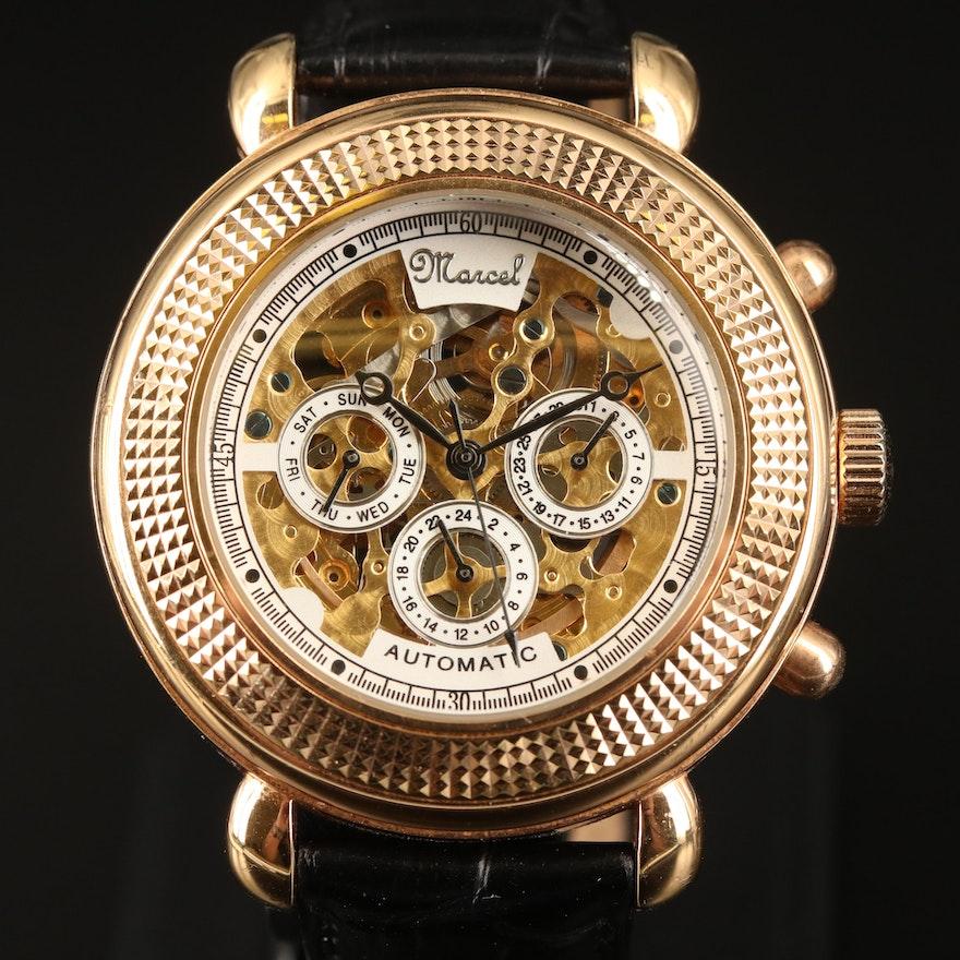 Mercel Skeleton Wristwatch