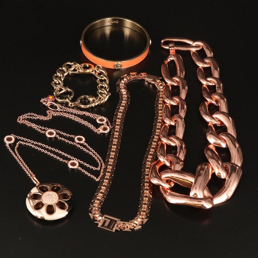 Jewelry Including Lauren G Adams, C Wonder Enamel and Cubic Zirconia