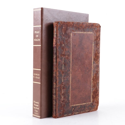 """Scarce Signed Presentation Copy """"Epistle to a Friend"""" by Charles W. Peale, 1803"""