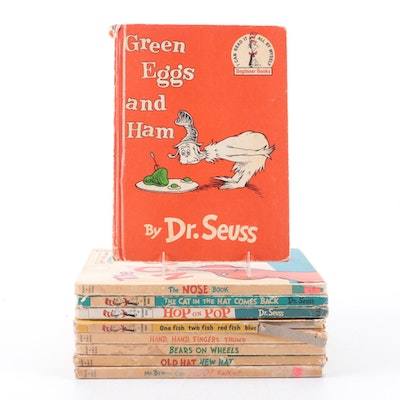 Children's Books Including Dr. Seuss Book Club Editions, Mid/Late 20th Century