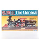 "MPC ""The General"" Steam Locomotive Plastic Model, Unopened"