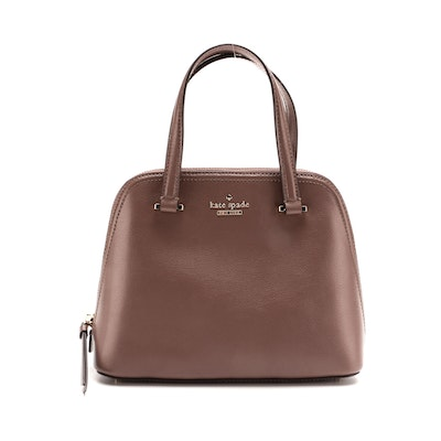 Kate Spade Patterson Drive Dome Satchel in Pebble Grain Leather