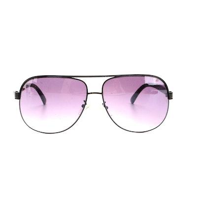 D.G. Eyewear Aviator Sunglasses with Case