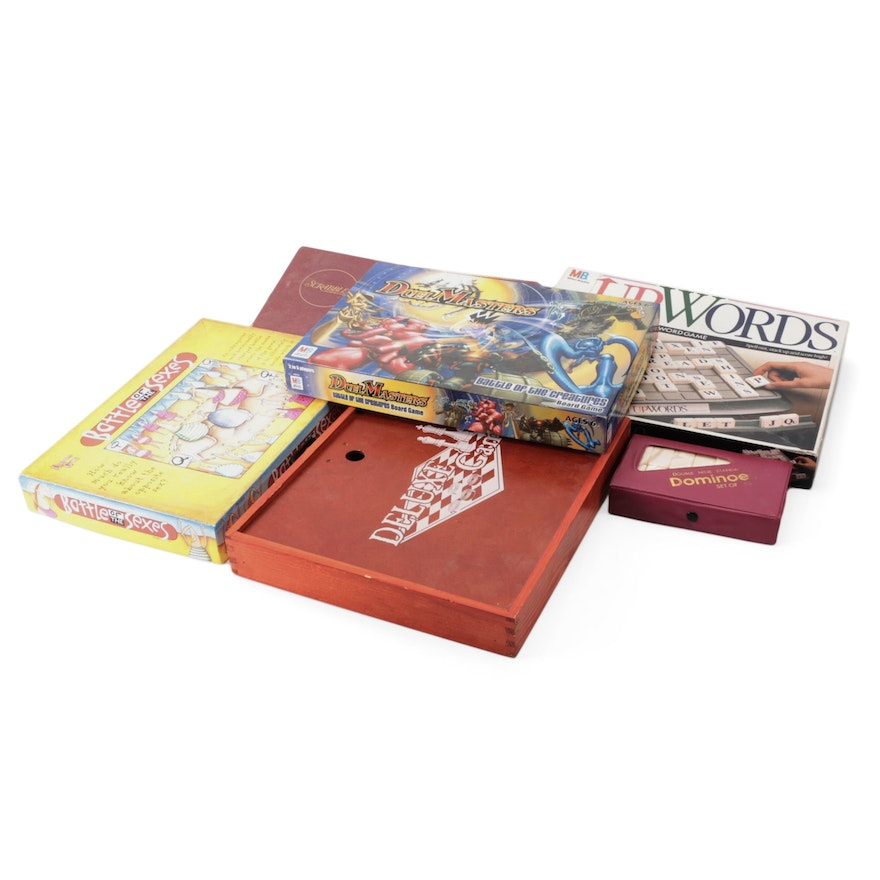 Milton Bradley Scrabble, Duel Masters, and Other Board Games
