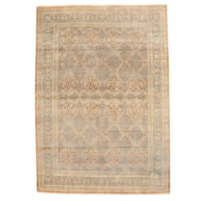 10' x 14'5 Hand-Knotted Pakistani Room Sized Rug from The Rug Gallery
