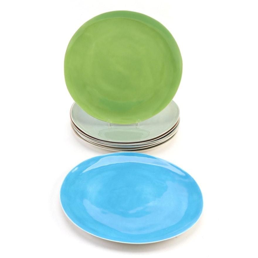 Davistudio Artisan Crafted Porcelain Dinner Plates