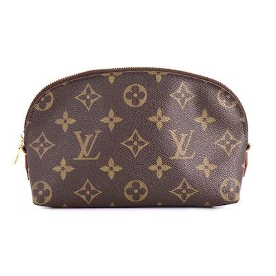 Louis Vuitton Cosmetic Case in Monogram Canvas