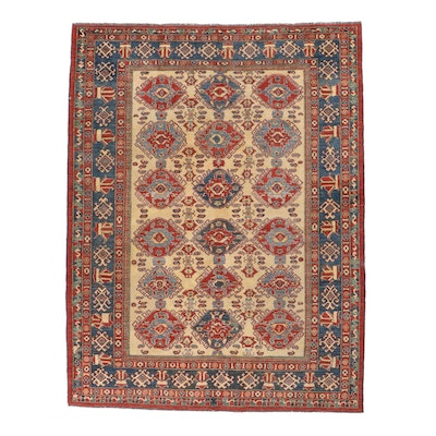 8'8 x 11'4 Hand-Knotted Caucasian Shirvan Area Rug
