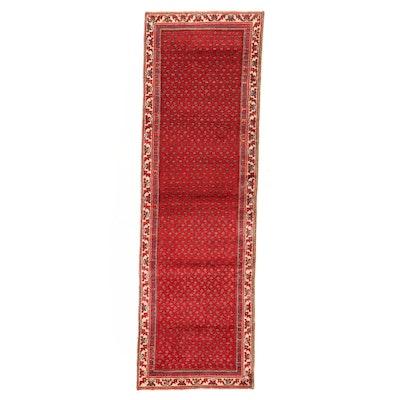 3' x 9'8 Hand-Knotted Persian Mir Carpet Runner