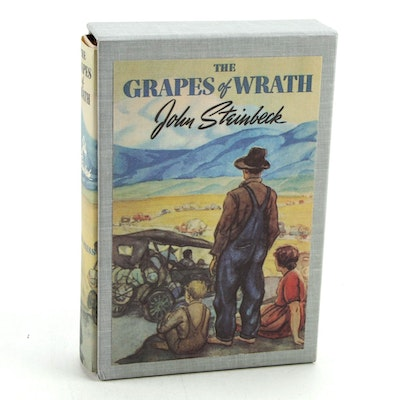 """First Edition Facsimile """"The Grapes of Wrath"""" by John Steinbeck, 1967"""