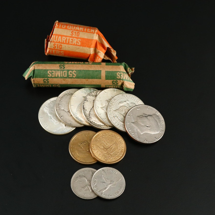 Assortment of Vintage U.S. Silver Coins