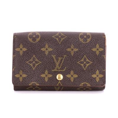 Louis Vuitton Porte-Monnaie Billets Cartes Crédit in Monogram Canvas