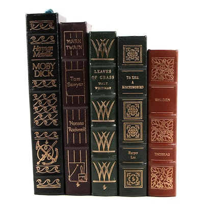 """Norman Rockwell Illustrated """"Tom Sawyer"""" and More Easton Press Classics"""