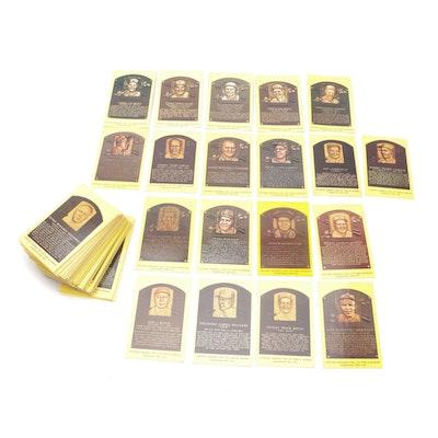 Baseball Hall of Fame Placard Postcards