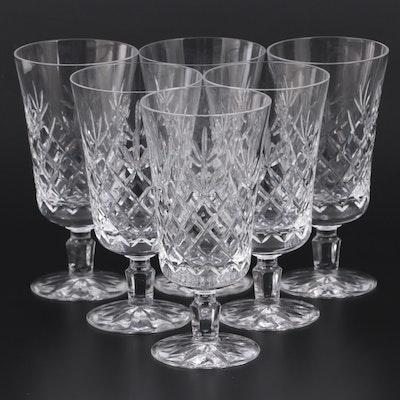 """Lenox """"Charleston"""" Crystal Iced Tea Glasses, Late 20th Century"""