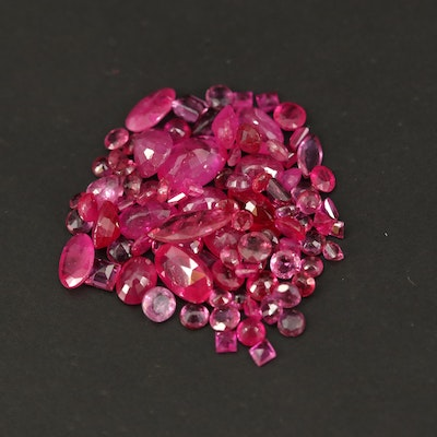 Loose 10.04 CTW Faceted Rubies