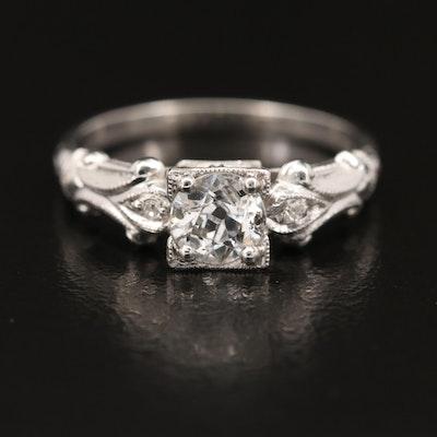 Vintage Goldfarb & Friedberg Inc. 14K Diamond Ring