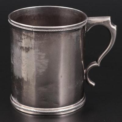 William Gale & Son Coin Silver Mug, Mid-19th Century
