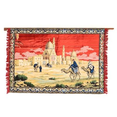 Machine Made Velvet Pile Tapestry Wall Hanging