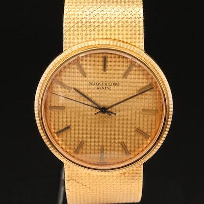 18K Patek Philippe Calatrava Automatic Wristwatch