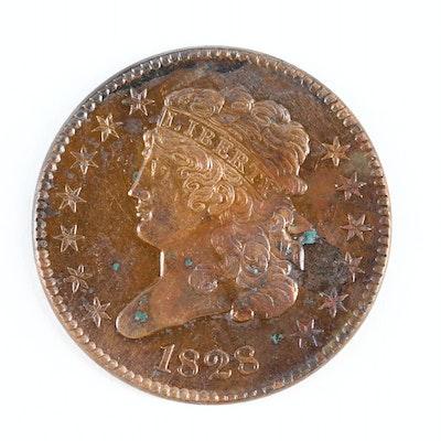1828 Classic Head Half Cent