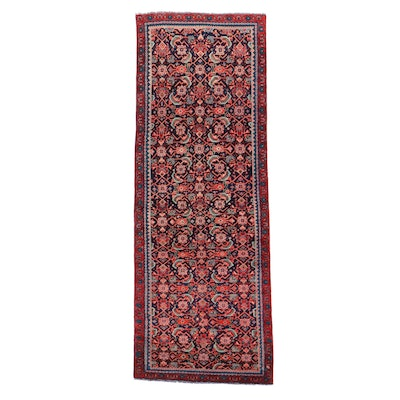 3'1 x 8'8 Hand-Knotted Northwest Persian Herati Long Rug