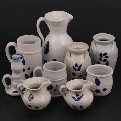 Williamsburg Pottery Salt Glazed Stoneware Tableware