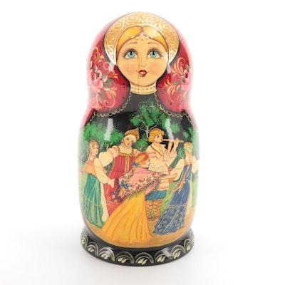 Handcrafted Russian Matryoshka Dolls