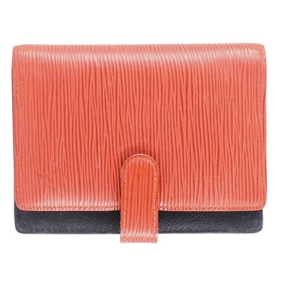 Louis Vuitton Red Epi Leather Agenda Planner