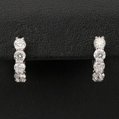 14K 2.03 CTW Diamond Earrings