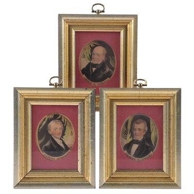 Presidential Halftone Portrait Miniatures