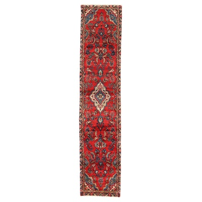 2'1 x 10'3 Hand-Knotted Persian Hamadan Carpet Runner