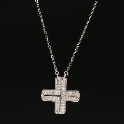 14K Diamond Convertible Necklace