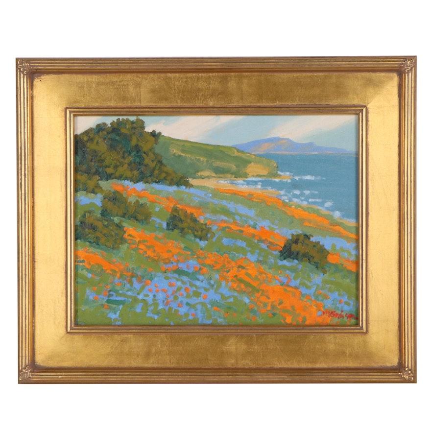 """Marc A. Graison Oil Painting """"Sea Symphony,"""" 2020"""