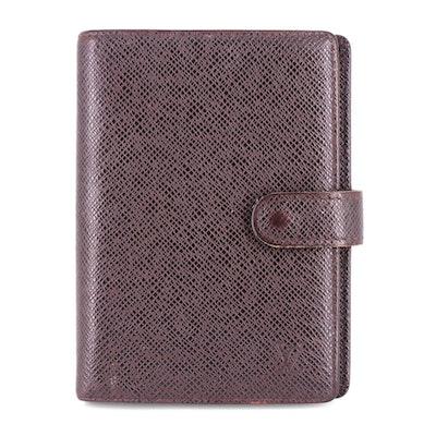 Louis Vuitton Taïga Leather Agenda Planner