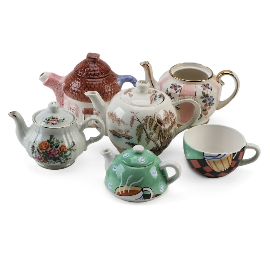 Price, Robinson Design Group, Cardinal Inc., and Other Porcelain Teapots