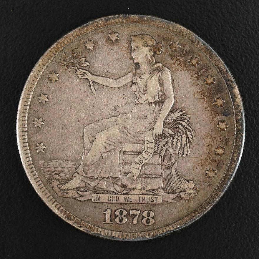 1878-S Silver Trade Dollar