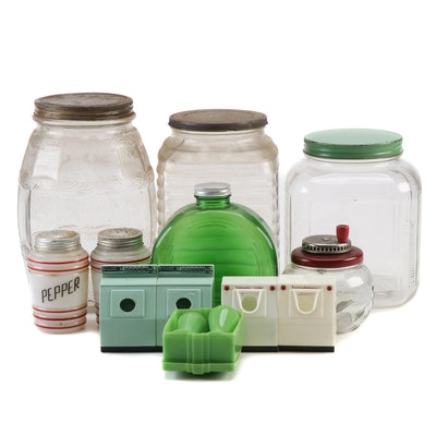 Owens-Illinois Glass Storage Containers and Other Containers and Tableware