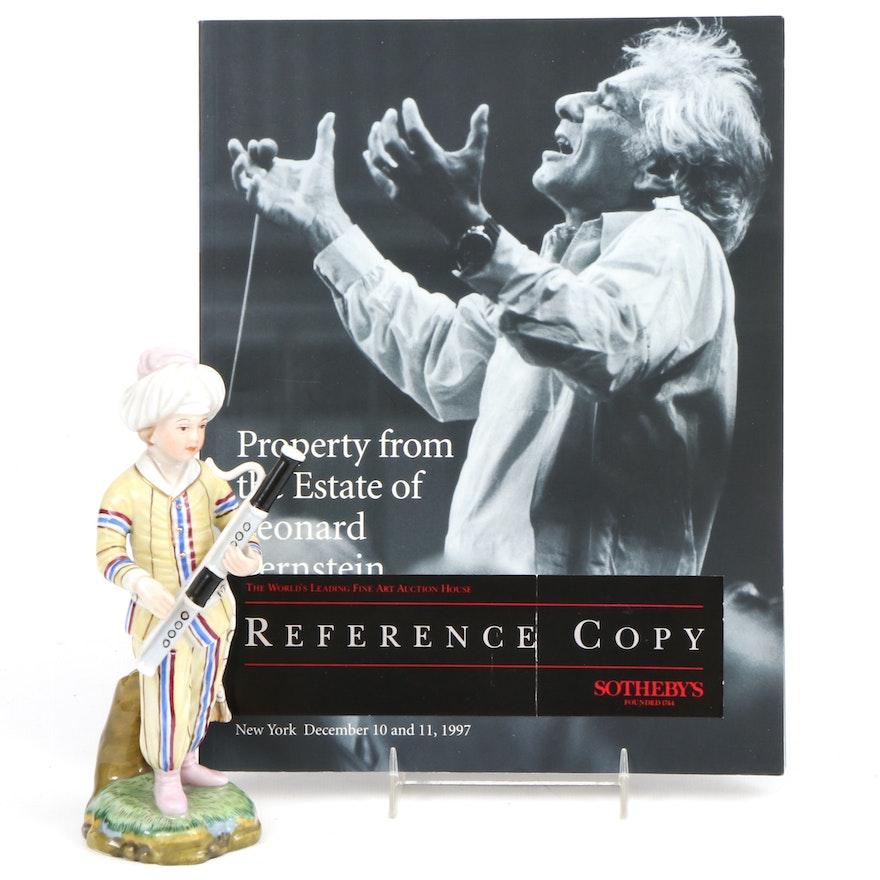 German Hochst Porcelain Figurine, from the Estate of Leonard Bernstein