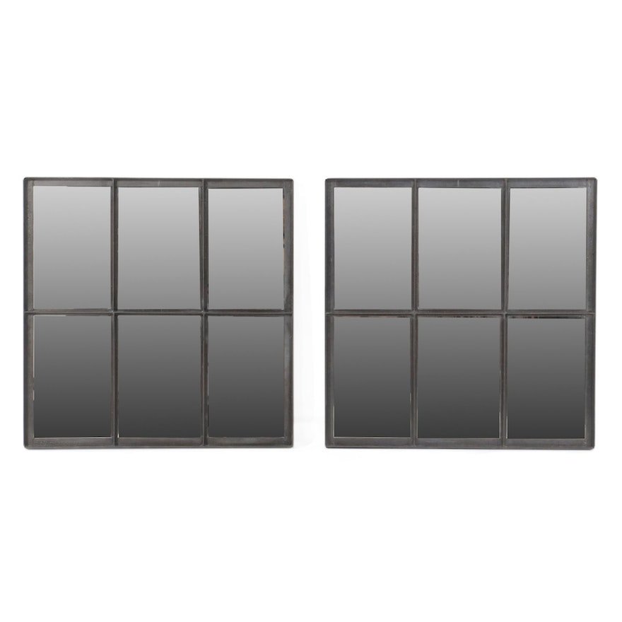 Indian Contemporary Metal Framed Wall Mirrors
