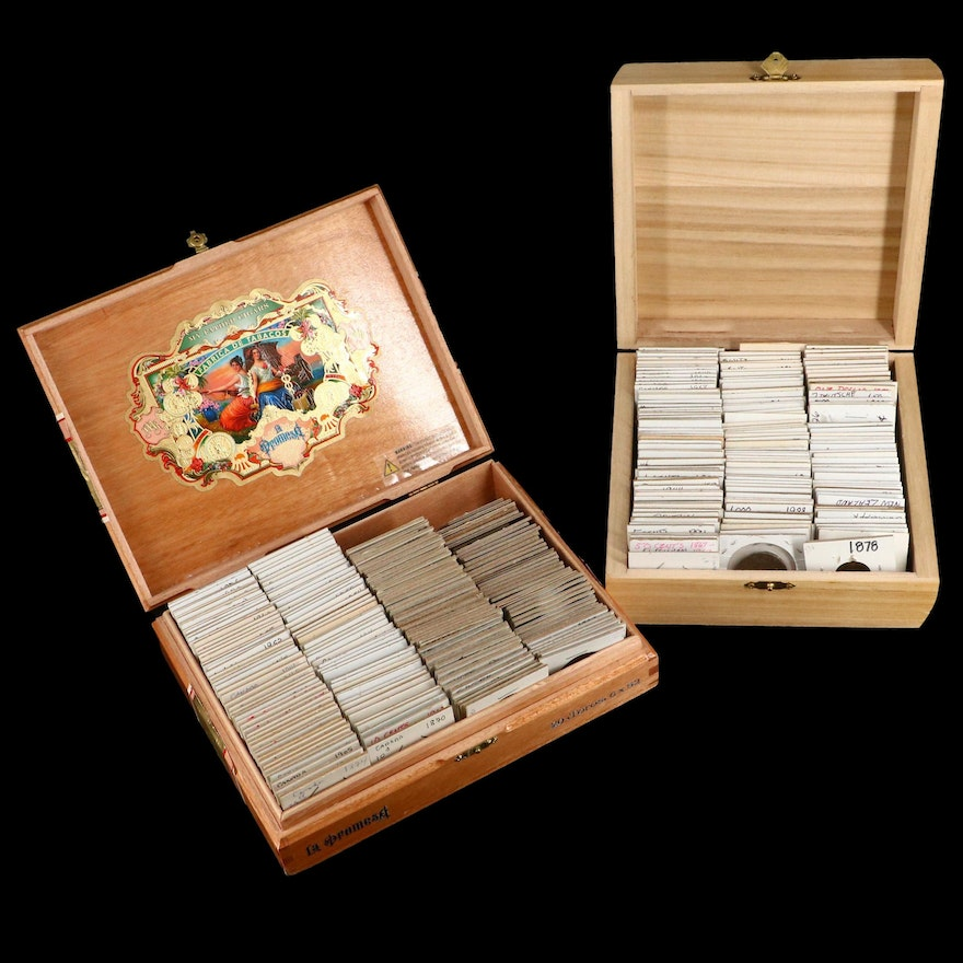 Vintage Foreign Coin Collection, Including Silver