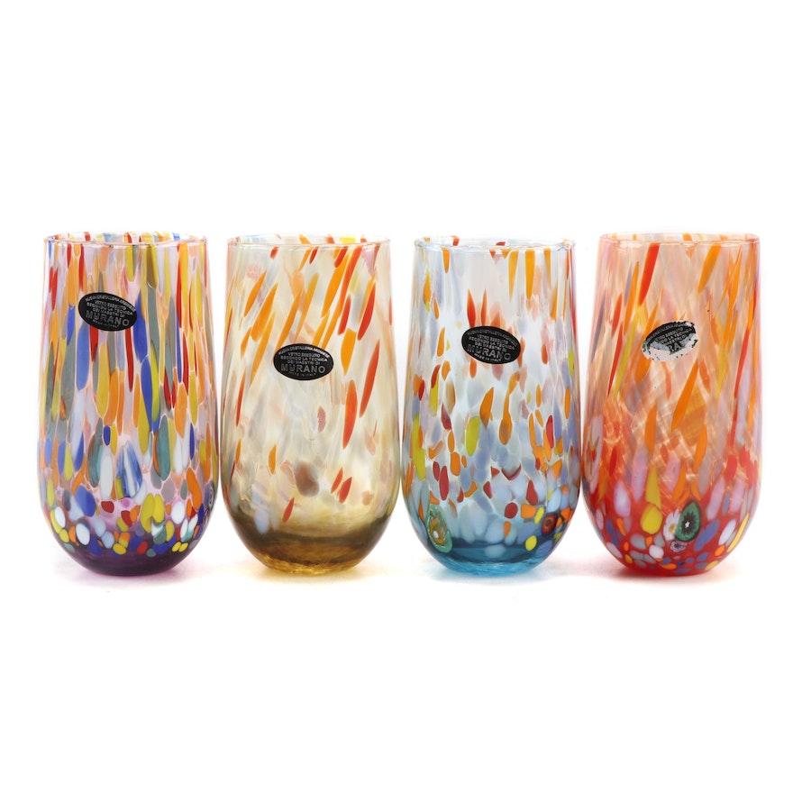 Murano Handblown Glass Tumblers