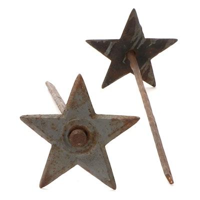 Cast Iron Star Anchor Plates