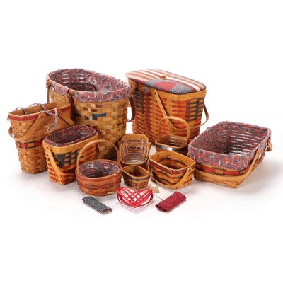 """Longaberger """"25th Anniversary,"""" """"Inaugural,"""" and More Americana Themed Baskets"""